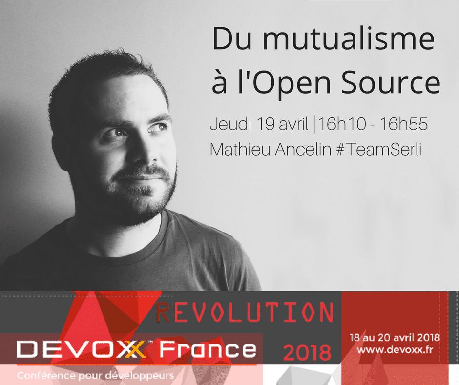 Mathieu Ancelin à Devoxx France 2018