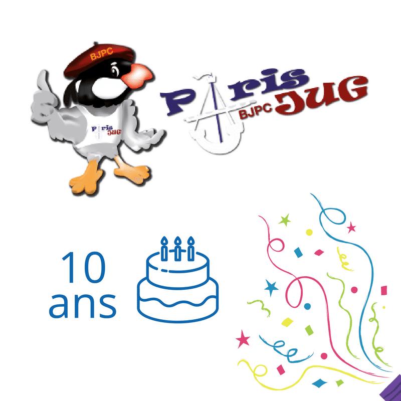 Les 10 ans du Paris JUG