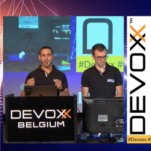 Fedy Salah et Guillaume Soldera à Devoxx Belgium