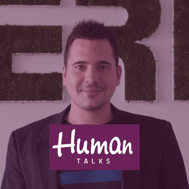 Gauthier Poulet au Human Talks Poitiers