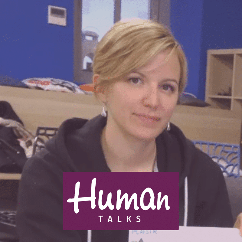Anne Roquain au Human Talks de Poitiers