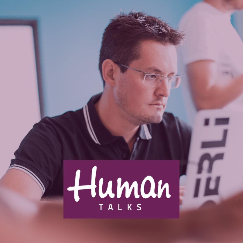 Sébastien Prunier au Human Talks Poitiers