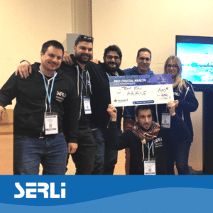 la Team Serli au hackathon pro digital health