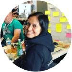 Yasmine Farhani au Hackathon IMA