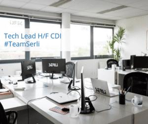 offre d'emploi tech lead au sein de la team serli