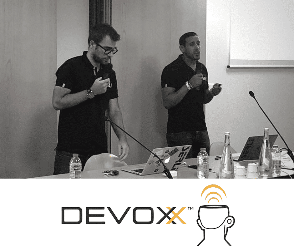 Fedy Salah et Guillaume Soldera à Devoxx Anvers 2018