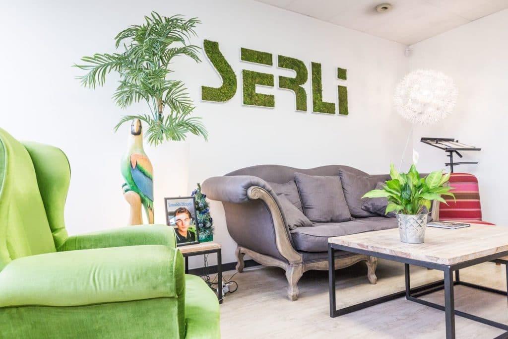 La salle de pause de la Team Serli