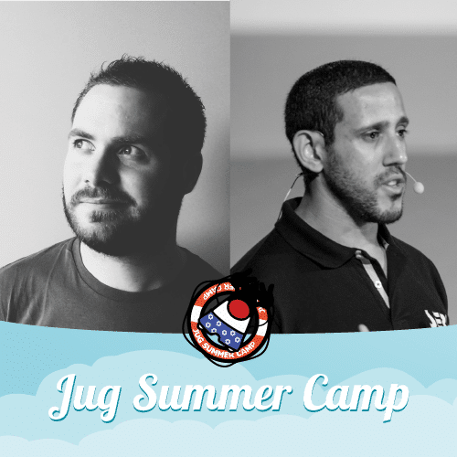 Mathieu Ancelin et Fedy Salah au Jug Summer Camp 2019