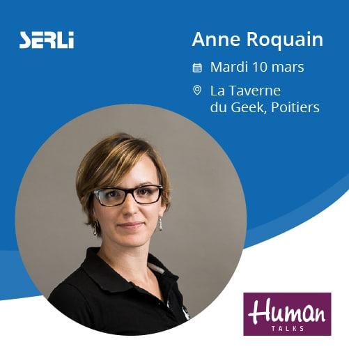 Anne Roquain présente l'outil Canva le 10 mars à Poitiers