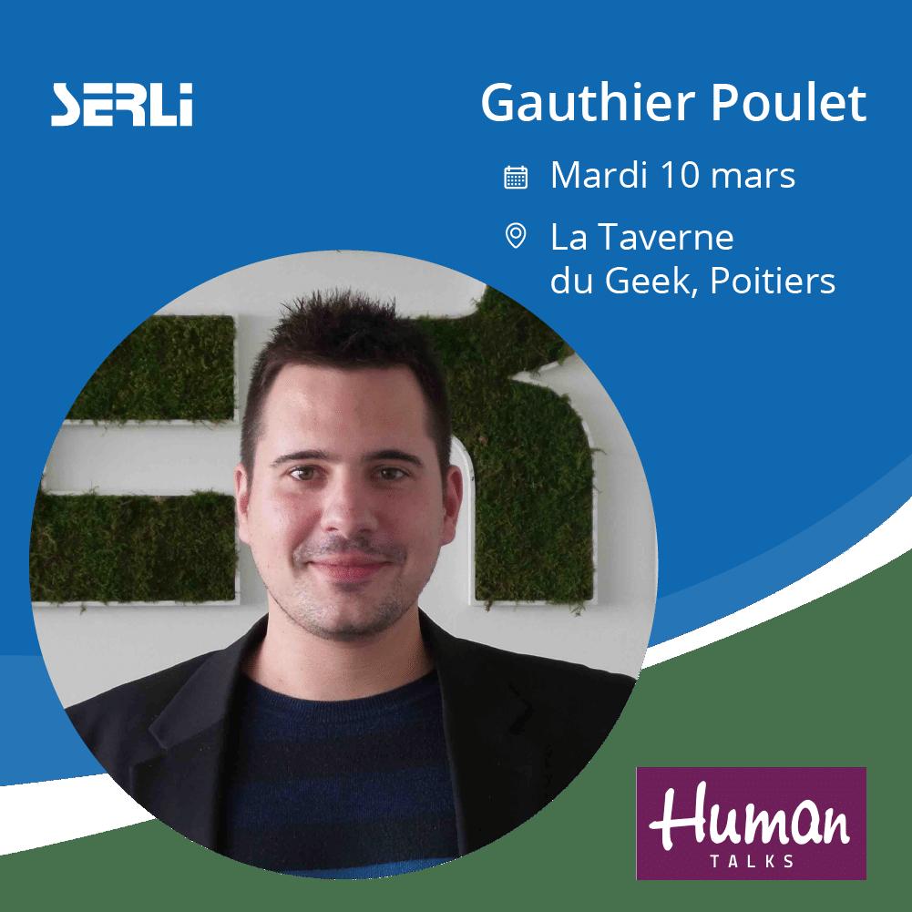 Gauthier Poulet Serli présenter Jetpack Compose aux Human Talks Poitiers
